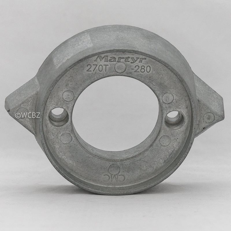 Volvo 280/290 Single Prop Collar - Zinc -