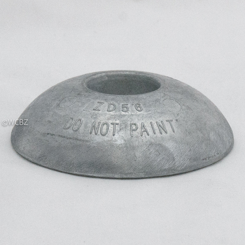 100mm Commercial Hull Disc - Zinc -