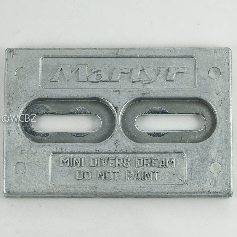 Mini Divers Dream Hull Plate - Magnesium -