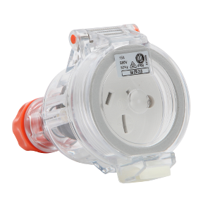 Electrical Socket 3 Pin 15 Amp PDL Style