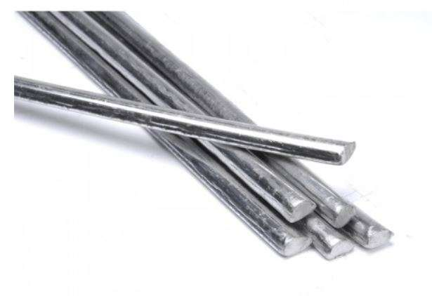 Nickel Silver Tinning Rod 1/8