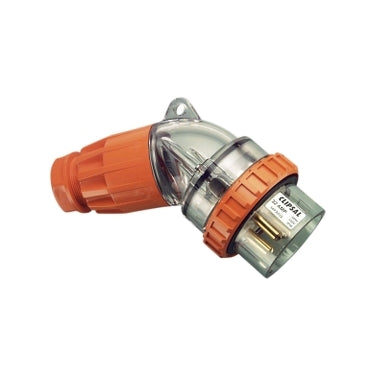 Electrical 4 Pin 32 Amp PDL Angled Plug