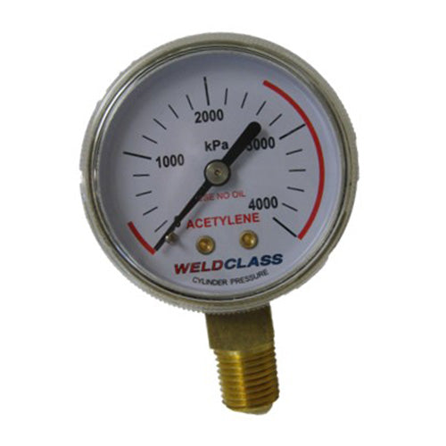 High Pressure Acetylene Gauge
