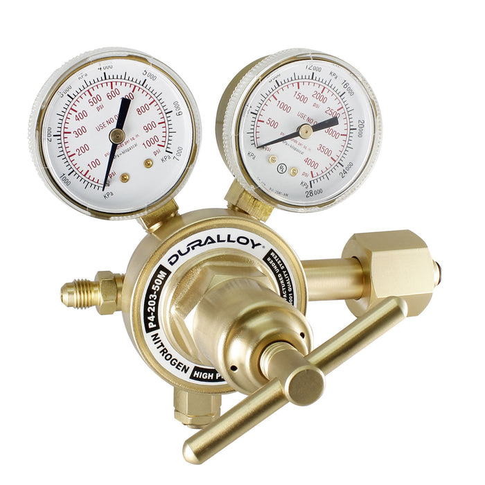 High Pressure Nitrogen Regulator