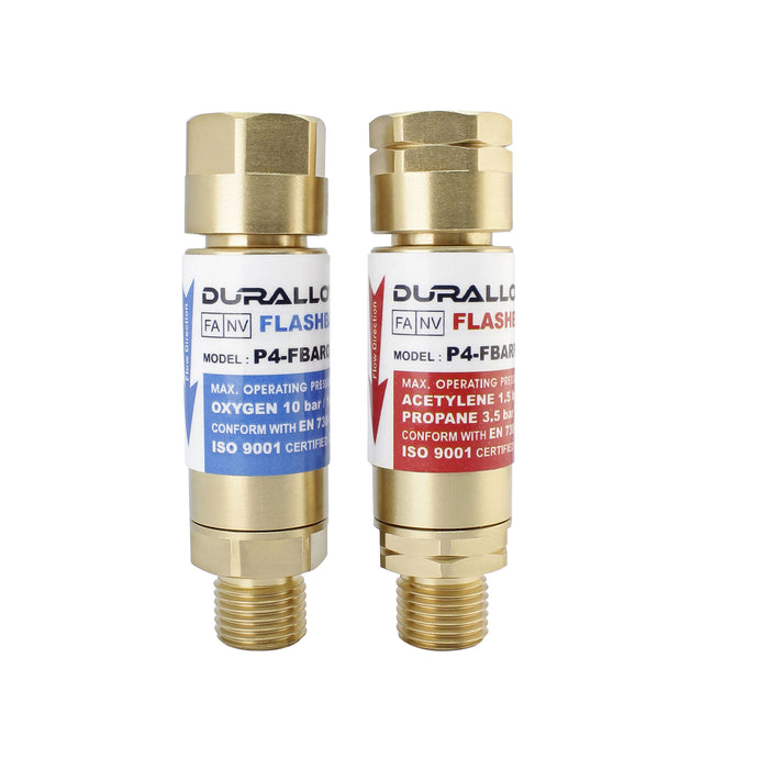 Flashback Arrestor Oxy - Regulator End
