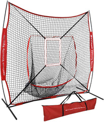 Maximum Velocity Sports 7 x 7 practice net with strike zone