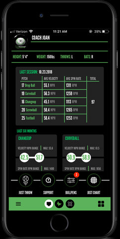 Maximum Velocity Sports Softball PitchTracker