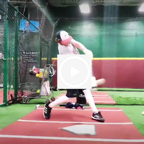 The ProVelocity Bat Demonstrated by Raised in Baseball Tanner Carson