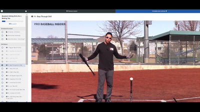 Professional Tee Drills Videos & Book by MLB's Doug Bernier. Accessible from phone app also