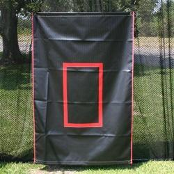 Batting Cage Canvas Back Drop - Maximum Velocity Sports