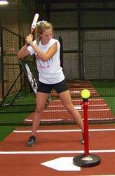 Brush Top Batting Tee - Maximum Velocity Sports