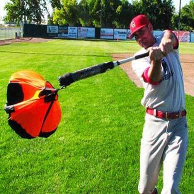 Chute Trainer 5-10 mph bat speed enhancer in less than 1 minute...GUARANTEED! - Maximum Velocity Sports