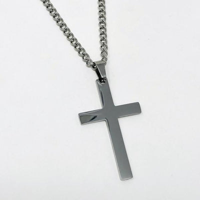 Cross Pendant With Chain Necklace - Maximum Velocity Sports