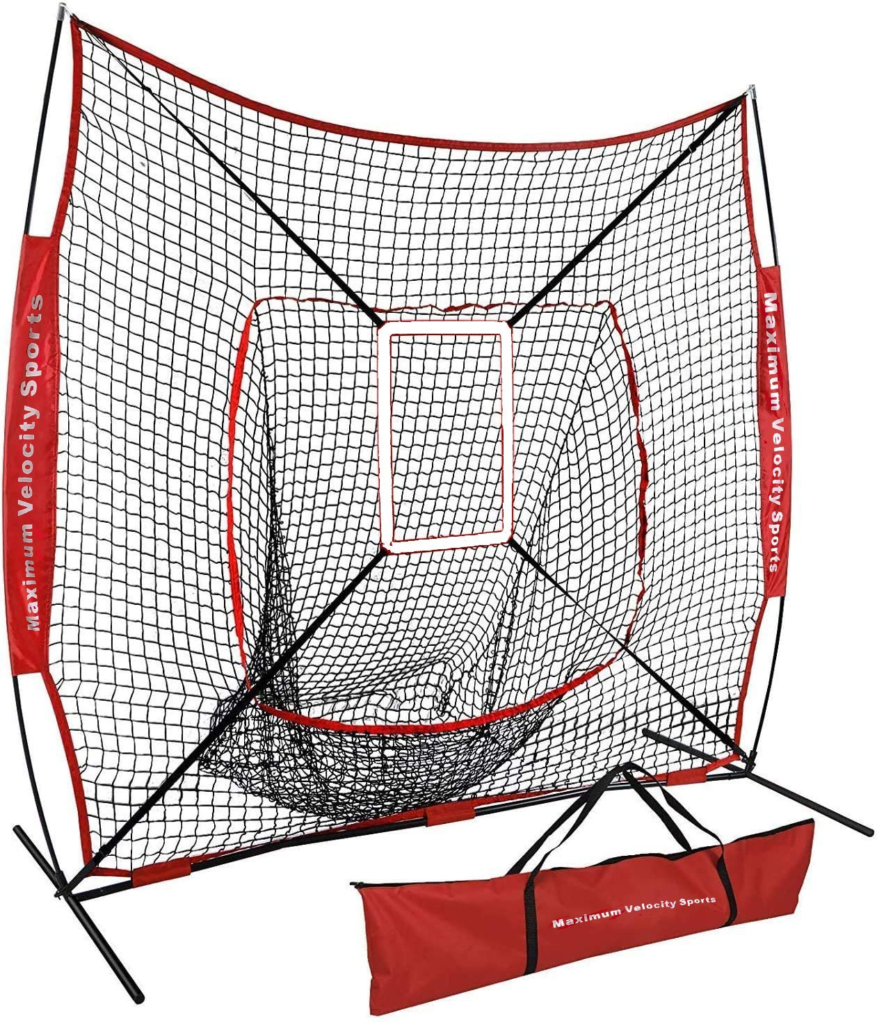 Maximum Velocity Sports | 5x5 Practice Net | Baseball/Softball Net | Ideal Youth Size - Maximum Velocity Sports