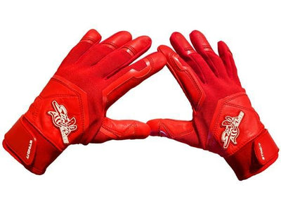 Stinger - Color Crush RED Batting Gloves - Maximum Velocity Sports