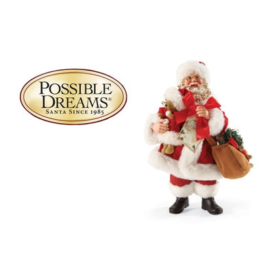 The Creation of Possible Dreams Clothtique Santas