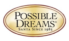 Possible Dreams Clothtique Santas