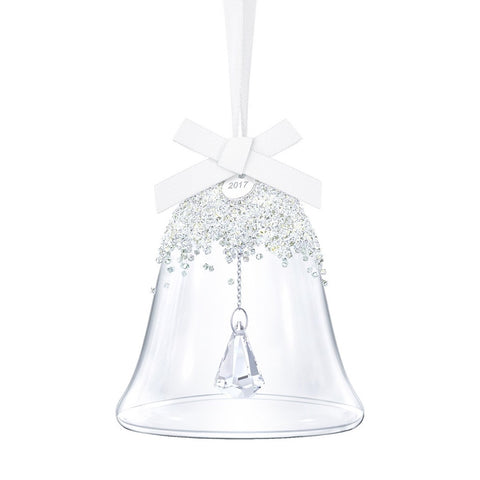 Swarovski Crystal 2017 Christmas Bell Ornament
