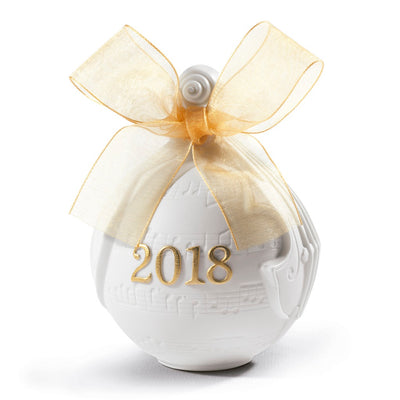 Lladro 2018 Ball Christmas Ornament (Re-Deco)