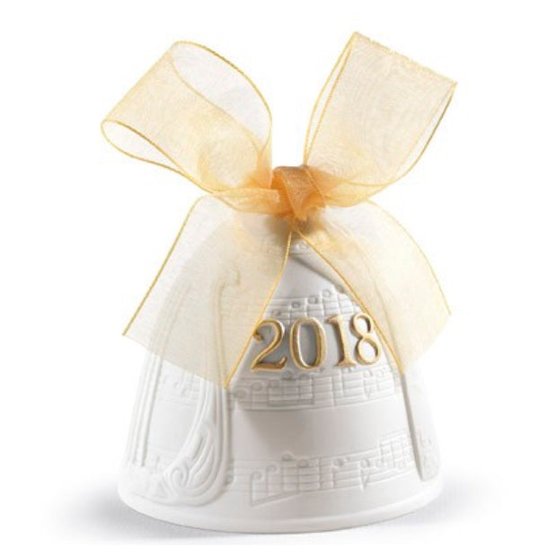 Lladro 2018 Bell Christmas Ornament (Re-Deco)