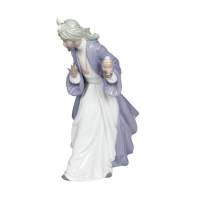 Nao by Lladro King Balthasar with Jug Figurine