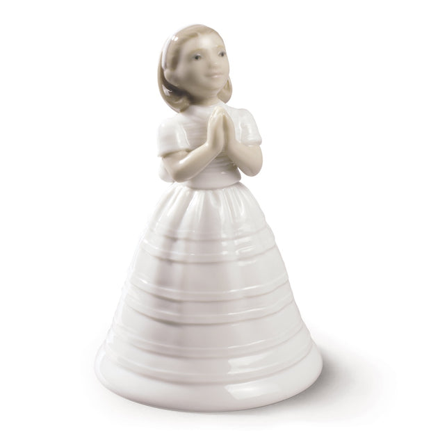 Nao by Lladro First Communion Bell Figurine