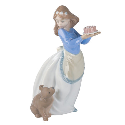 Nao by Lladro Puppy's Birthday Figurine