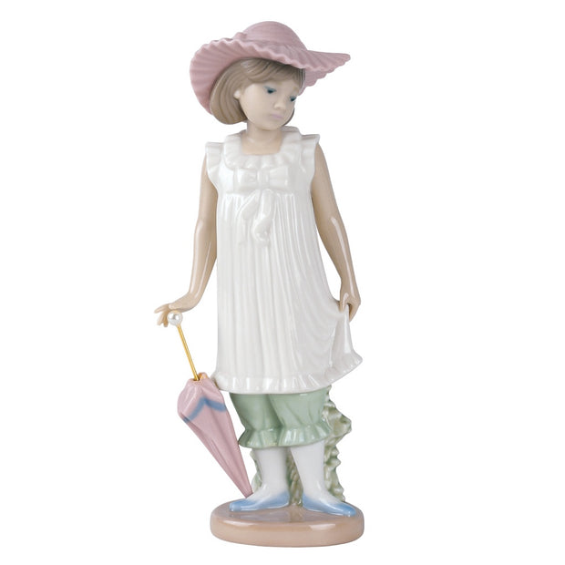 Nao by Lladro April Showers Figurine