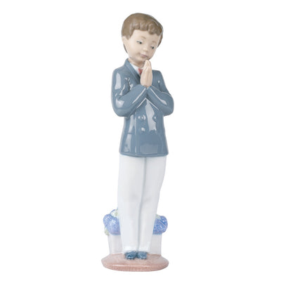 Nao by Lladro Time To Pray Figurine