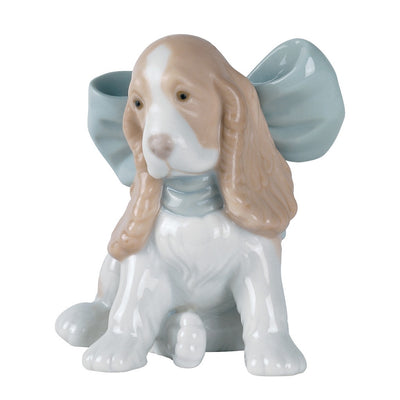 Nao by Lladro Puppy Present Figurine