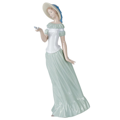 Nao by Lladro The Butterfly's Dance Figurine