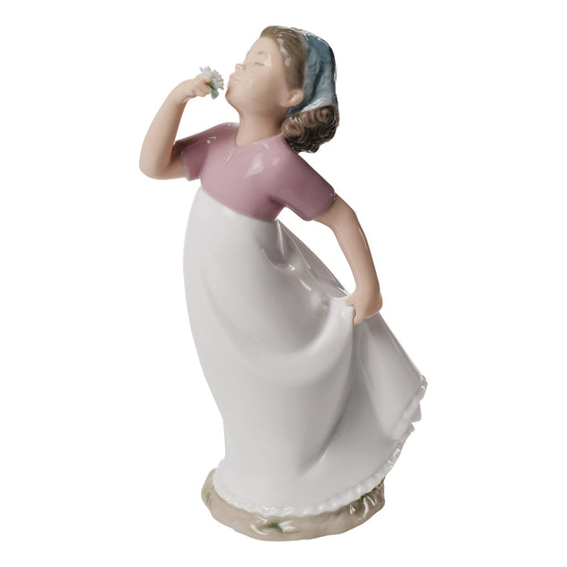 Nao by Lladro A Delicate Scent Figurine