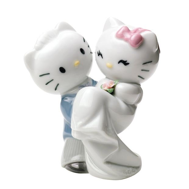 Nao by Lladro Hello Kitty Gets Married! Figurine