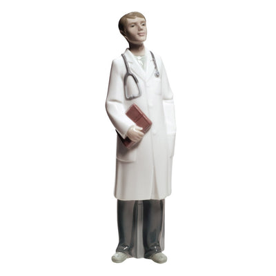 Nao by Lladro Doctor Figurine - Male