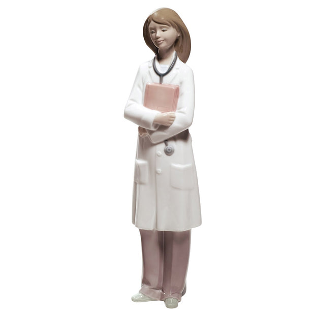 Nao by Lladro Doctor Figurine - Female