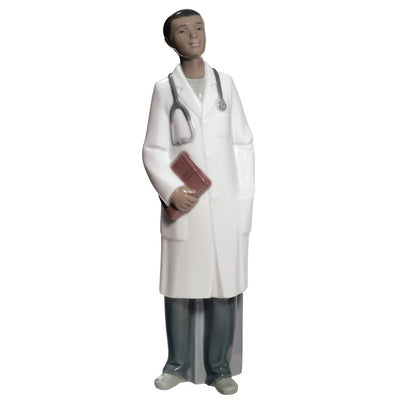Nao by Lladro Doctor Figurine - Male (Treasured Memories)