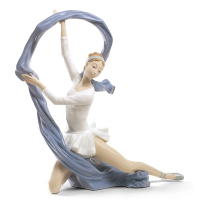 Nao by Lladro Dancer with Veil Figurine (Special Edition)
