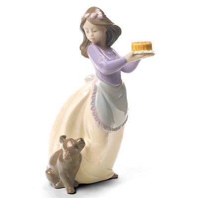 Nao by Lladro Puppy's Birthday Figurine (Special Edition)