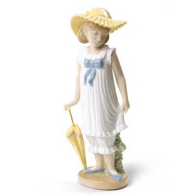 Nao by Lladro April Showers Figurine (Special Edition)