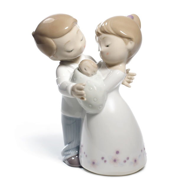 Nao by Lladro Love Is...Our Little Baby Figurine