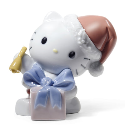 Nao by Lladro Happy Holidays Hello Kitty Figurine