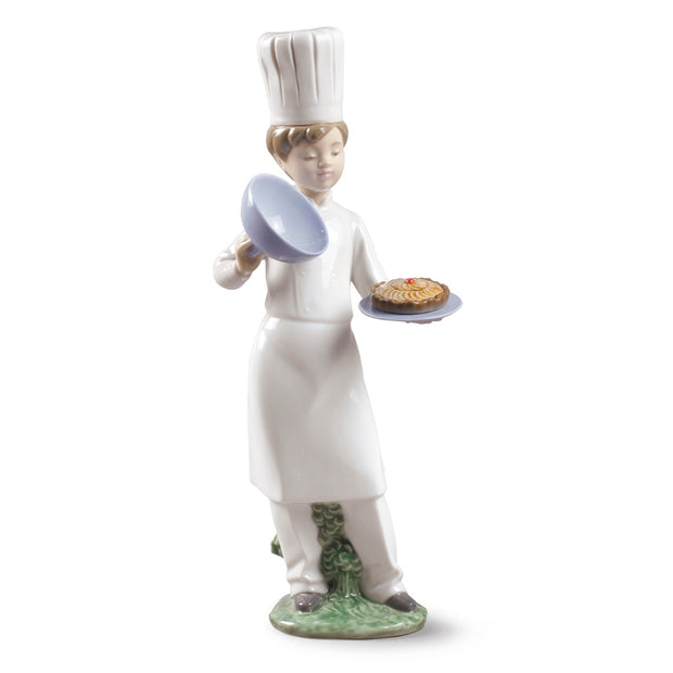 Nao by Lladro A Cake For You Figurine