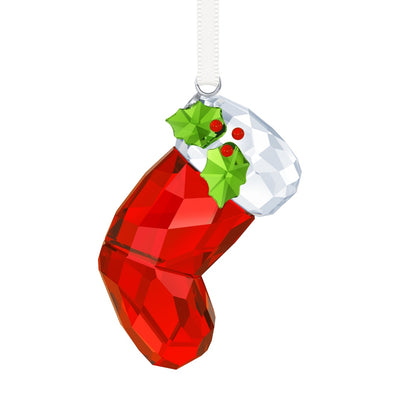 Swarovski Crystal Santa's Stocking Ornament