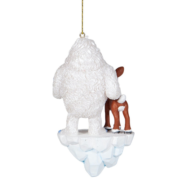 Rudolph The Red-Nosed Reindeer Bumble and Rudolph Ornament