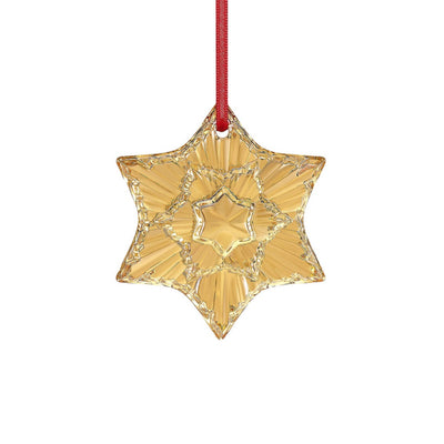 Baccarat 2020 Annual Christmas Ornament - Gold