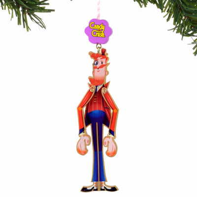 Candy Crush Mr. Toffee Ornament