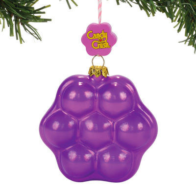 Candy Crush Purple Candy Ornament