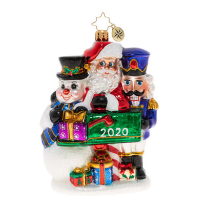 Christopher Radko A Forever Treasured Trio 2020 Christmas Ornament