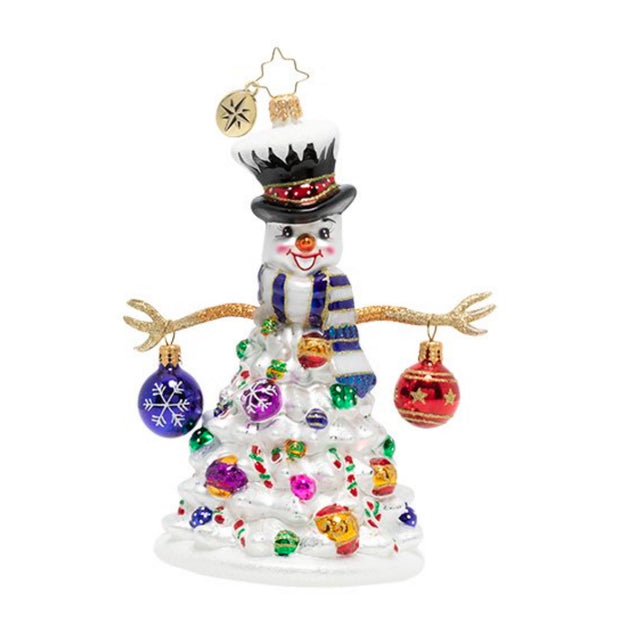 Christopher Radko Quite A Lively Tree Christmas Ornament