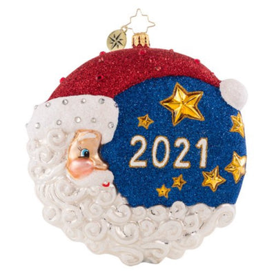 Christopher Radko The First star I See Tonight 2021 Christmas Ornament
